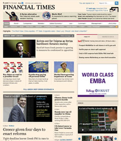 Financial Times Online April