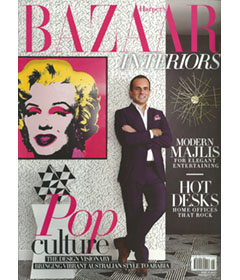Harpers Bizaar Interior July-Aug 2015